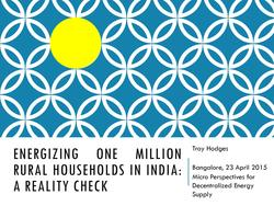 Energizing One Million Rural Households in India - A Reality Check.pdf