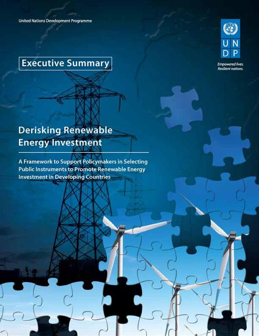 File:Derisking Renewable Energy Investment - Executive Summary (April 2013).pdf