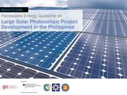 Large Solar PV Project Development in the Philippines.pdf