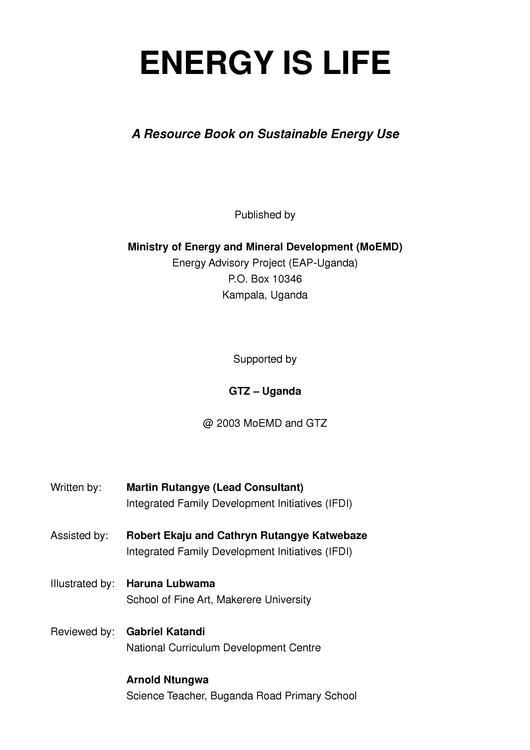File:GTZ-energy is life pupils workbook reduziert Uganda 2003 pdf