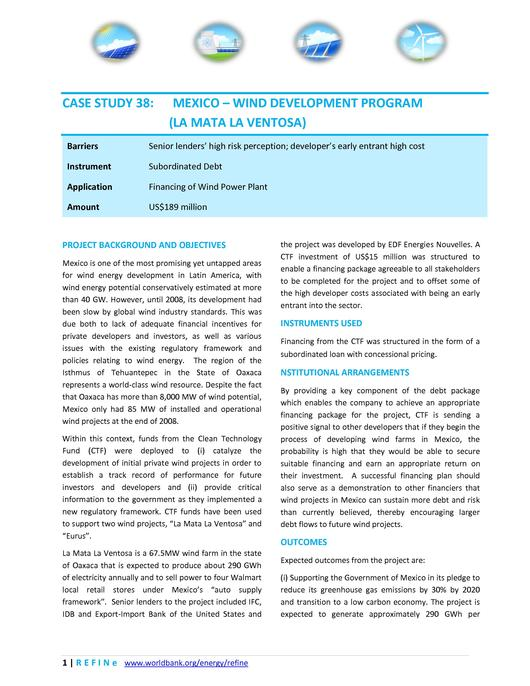 File:Mexico Wind Development Program La Mata La Ventosa.pdf