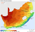 South Africa Solar Map.png