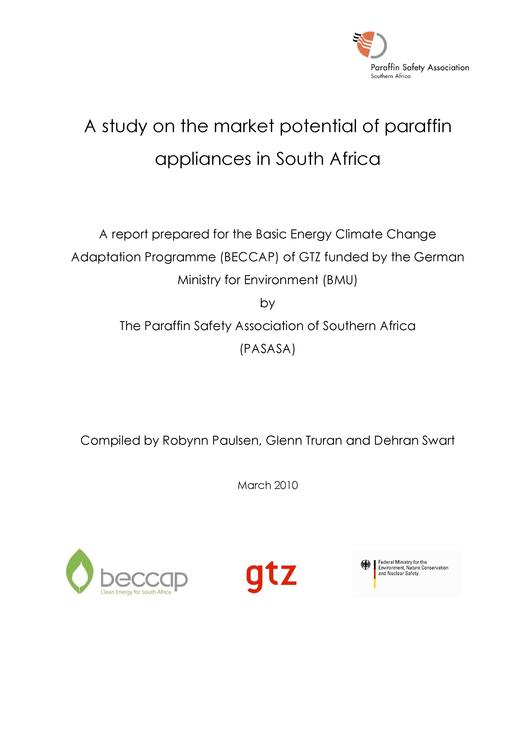File:A Study on the Market Potential of Paraffin Appliances in South Africa.pdf