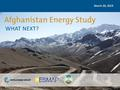 Afghanistan Energy Study - What next.pdf