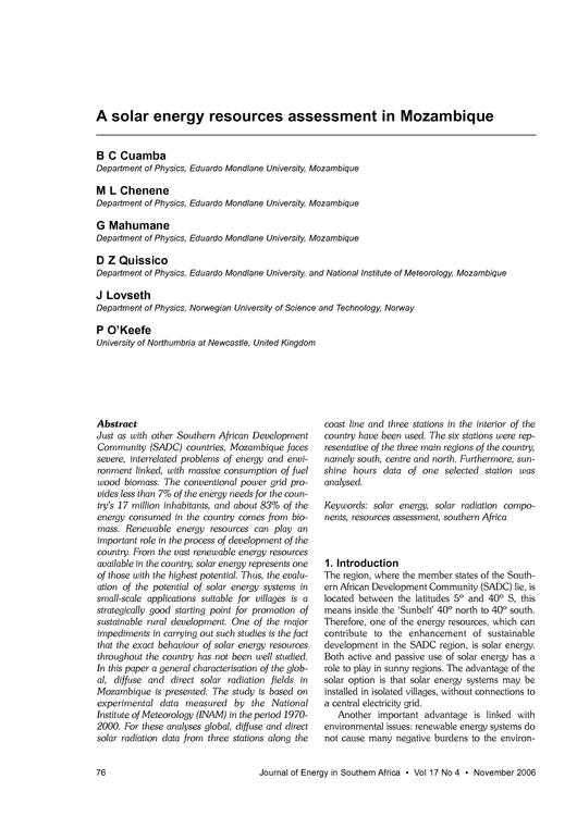 File:EN-A solar energy resources assessment in Mozambique-Eduardo Mondlane University.pdf