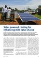 Solar powered cooling for enhancing milk value chains - Rural 21.pdf