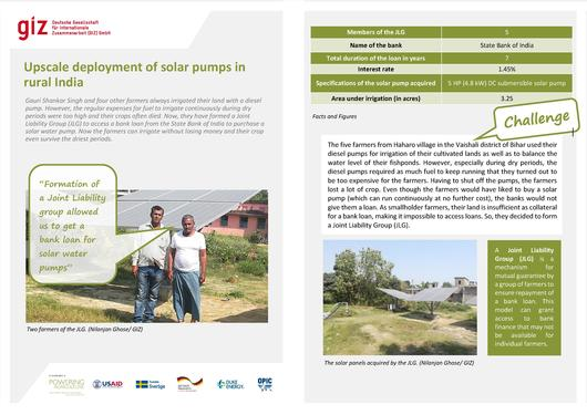 File:Story Sheet-Upscale deployment of solar pumps in rural India.pdf