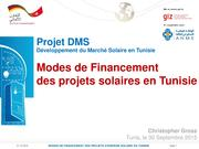 DMS PV Finance Activities