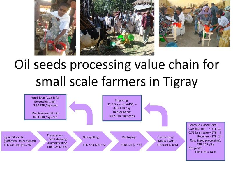 Oil Seeds Processing Value Chain