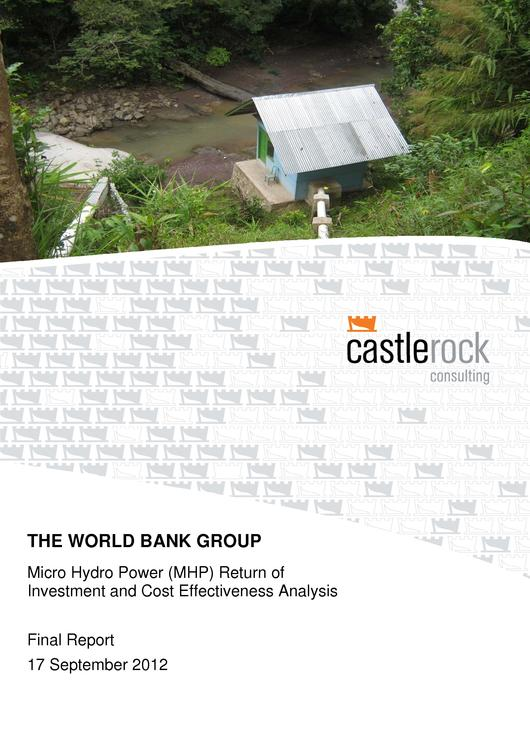 File:MHP Indonesia Cost Effectiveness Analysis Report - World Bank Group - September 2012.pdf