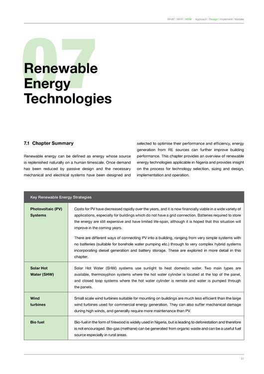 Building Energy Efficiency Guideline for Nigeria