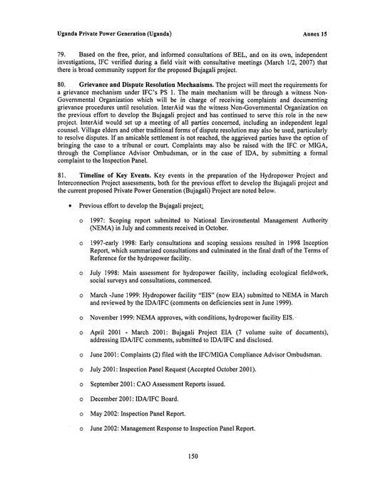 File:Uganda Private Power Generation (Bujagali) E&FA pdf