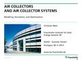 131106 Summer School, C.Welz, Air collectors.pdf