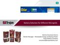Battery Selection for Different Microgrids.pdf