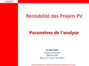 Parameters for Financial Analysis of Projects Sfax.pdf