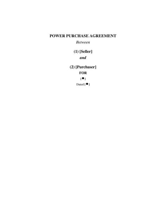 File:Kenya Model Power Purchase Agreement.pdf