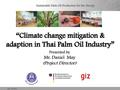 Climate Change Mitigation & Adaption in Thai Palm Oil Industry.pdf