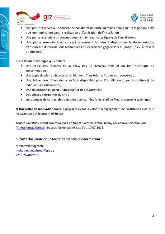 File Tdr Concours Installation Photovoltaïque De