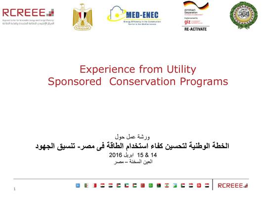 File:Experience from Utility Sponsored Conservation Programs in Egypt.pdf