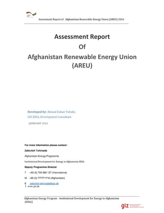 File:Capacity Assessment of AREU Private Sector- Report.pdf