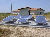 Small scale solar power plant