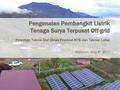 Pengenalan PLTS Terpusat Introduction for PV mini-grid.pdf