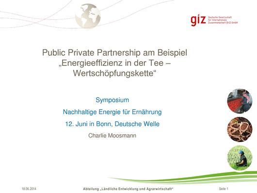 filepublic private partnership am beispiel energieeffizienz in der tee wertschpfungskette - Wertschopfungskette Beispiel