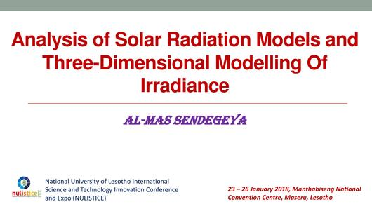 File:Analysis of Solar Radiation Models and three-dimensional Modelling of Irradiance.pdf