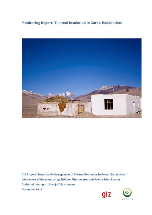 File:Monitoring Report Thermal Insulation Gorno-Badakhshan