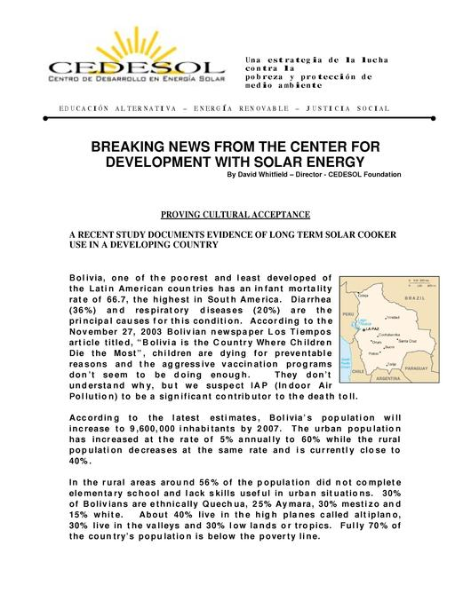 File:Lasting Impacts of a Solar Cooker Project in Bolivia.pdf